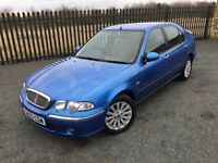 2003 03 ROVER 45 2.0 TD IMPRESSION *DIESEL* 5 DOOR HATCHBACK - JULY 2017 M.O.T!