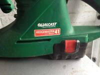 Qualcast cordless hedge trimmers £10