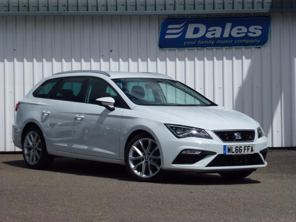 seat leon 2 0 tdi 150 fr technology 5dr white 2017 in newquay cornwall gumtree. Black Bedroom Furniture Sets. Home Design Ideas