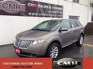 2012 Lincoln MKX AWD ONLY $212.88 PAYMENT B/W *CERTIFIED*