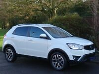 2016 Ssangyong Korando 2.2 TD ELX 4WD Automatic 5dr - IMMACULATE - 1 OWNER - 17,000 MILES