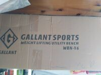 Unopened Galants Sport Weight Lifting Utility Bench