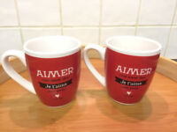 Two French mugs
