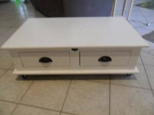 Low Table on wheels Kincumber Gosford Area Preview