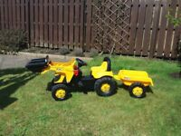 JCB Tractor Trailer and Loader