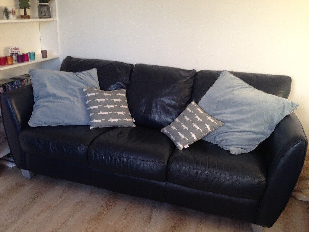 2 Leather Sofas In Dundee Gumtree
