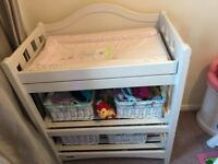 Mamas & Papas Cream Solid Pine Baby Changing Unit