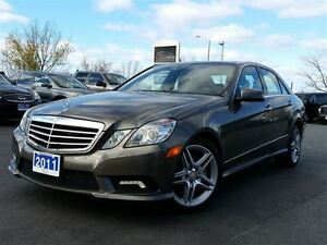 2011 Mercedes-Benz E-Class E550 4MATIC-LUXURY SEDAN