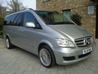 2009 MERCEDES VIANO 2.2 CDI LONG WHEEL BASE,AUTOMATIC DIESEL,MINT CONDITION,PERFECT RUNNER,LOW MILES