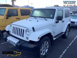 2015 Jeep Wrangler Sahara 4X4 heated seats, Nav, Bluetooth, remo