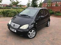 2002/02 MERCEDES A140 ELEGANCE AUTOMATIC CLUTCH DRIVES VERY WELL