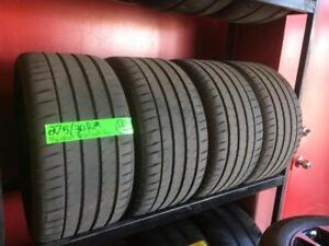 275/30/19 Michelin Pilot Sport 4S tires