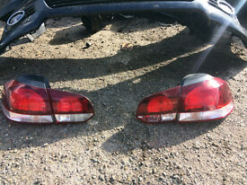 vw golf mk6 rear lights for sale