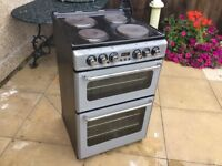 Belling Black/Silver All Electric Cooker Can Deliver If Required.