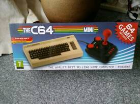 C64 mini with usb keyboard sealed