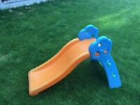 Toddler slide Grow n' up orange