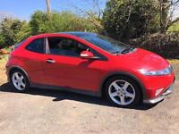 HONDA CIVIC TYPE-S GT 2008 ***ONLY 66000 MILES*** MOT NOVEMBER 2017***