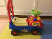 Disney Mickey Mouse Friends Clubhouse Ride On Car Toy Outdoor Indoor Toddler fun