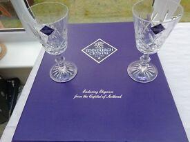 Set of 6 brand new, boxed, Edinburgh Crystal Wine Glasses