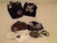 Various new Roxy, Billabong & Quiksilver Bags