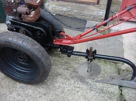 villiers tractor ploughs full working ready to go