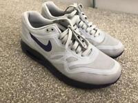 Nike Air purple and grey size UK 5