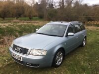 Audi A6 Avant 1.9 TDI CVT 5dr , 1 owner from new Cambelt+Woter pump Replaced 3 times