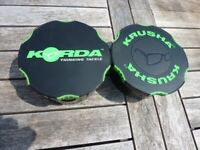 Korda Krusha Large & Trakker Pouch Carp Fishing Crushing boilies