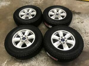 "17"" FORD F-150 STOCK WHEELS 6X135 with All Terrain Tires 265/70R17 (FORD F-150) ***ON SALE*** Calgary Alberta Preview"