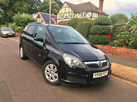 Vauxhall Zafira 1.9 CDTi Active 2006 Low Mileage