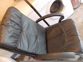 OFFICE CHAIR,VGC,TILT AND HEIGHT,ON WHEELS,CLEAN ALL WORKING