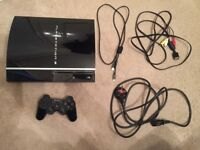 PS3 Console 80GB Piano Black with Controller