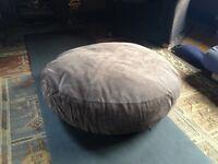 John Rocha Suede Floor Cushions x 2