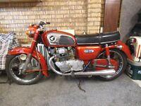 CLASSIC 1976 HONDA CD175