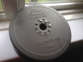 set of weider olypian weights