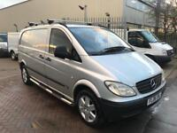 2006 MERCEDES VITO SPORT 111 CDI VAN COMFORT MODEL VERY RARE WITH ALLOYS SIDE STEPS DAY VAN CAMPER !