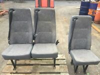 Ford Transit rear seats