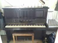Upright Piano Monington & Weston London