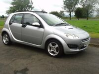 55 Smart For Four 1.3 Passion 5 Dr Full Service History