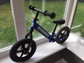 Strider Balance Bike - Blue