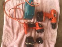 Drill sander and torch