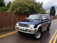 MITSUBISHI L200 2.5 TURBO DIESEL 4X4 VERY LOW MILAGE 76000