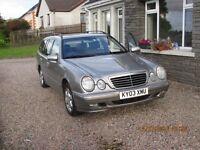 2003 Mercedes E220 - Elegance Estate auto, 142k miles, £1,800