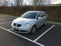 2009 VW POLO 1.2 5DR SERVICE HISTORY NEW MOT