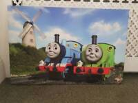 2 x Thomas and friends canvas prints