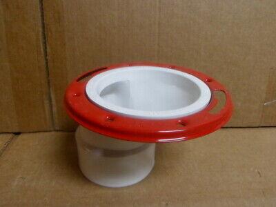 Oatey 43501 PVC Offset w/ Ring Closet Toilet Flange 3