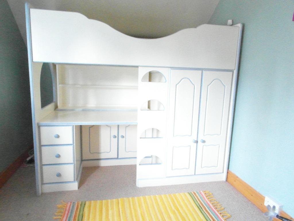 Chartley Solid Wood High Sleeper/Cabin Bed | in Burton-on ...