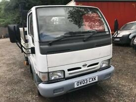 2003 Nissan cabstar E.120 Dropside spares or repair NEEDS FUEL PUMP