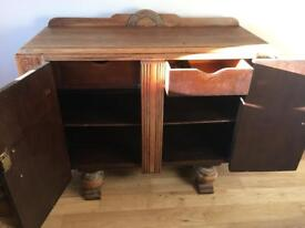 Free Wooden side board