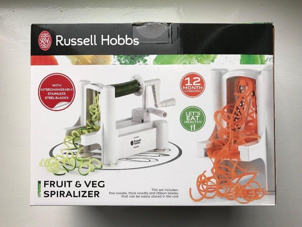 Russell Hobbs Fruit & Veg Spiralizer (New)